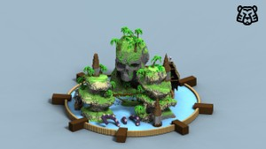 Pirate Island Lobby