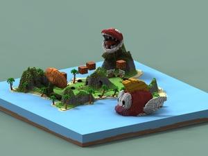 Minigames Lobby | Mario Bros | Ultra cheap