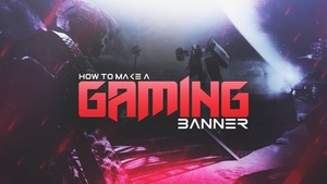 FREE YouTube Gaming Banner Template