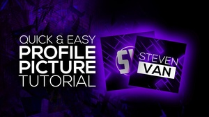 FREE YouTube Profile Picture Template