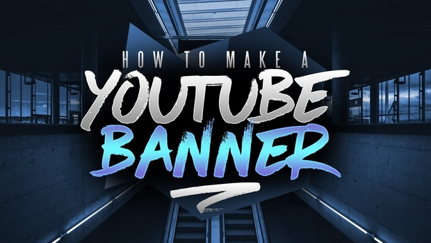 FREE YouTube Banner/Channel Art Template