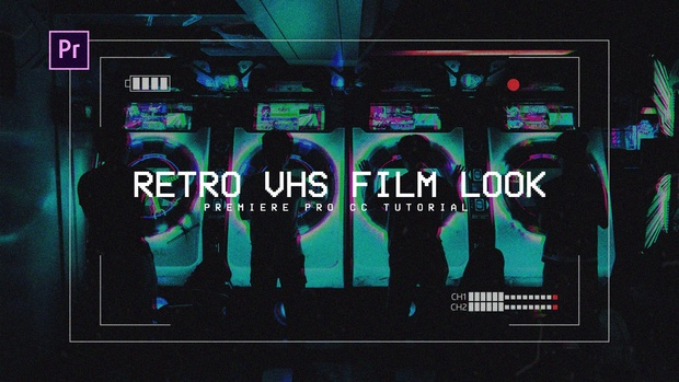 FREE VHS Film Look - Premiere Pro Preset
